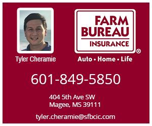 Ad - Farm Bureau Insurance Tyler Cheramie