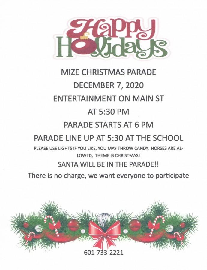 Mize Christmas Parade