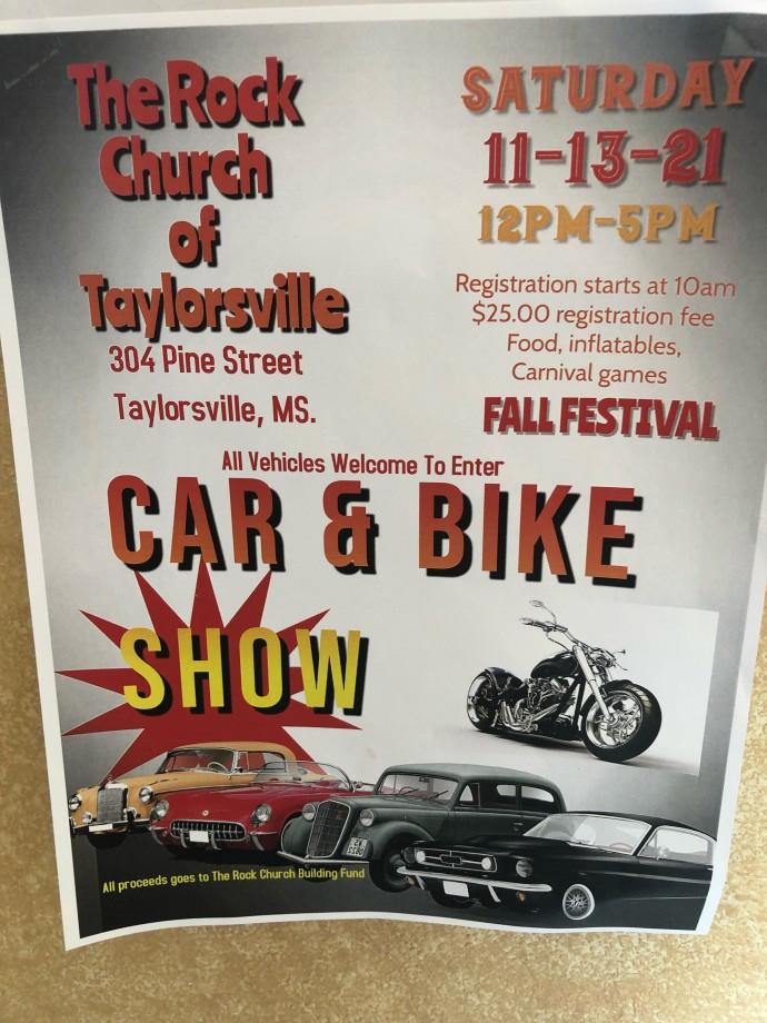 Rock Church Car & Bike Show 2021