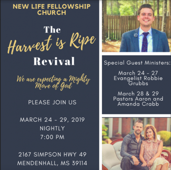 Harvest is Ripe Revival
