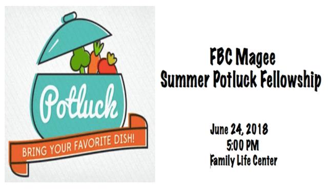 Summer Potluck at FBC