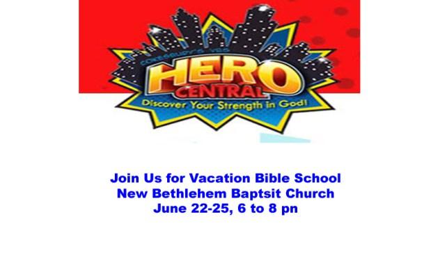 VBS at New Bethlehem Baptist Church