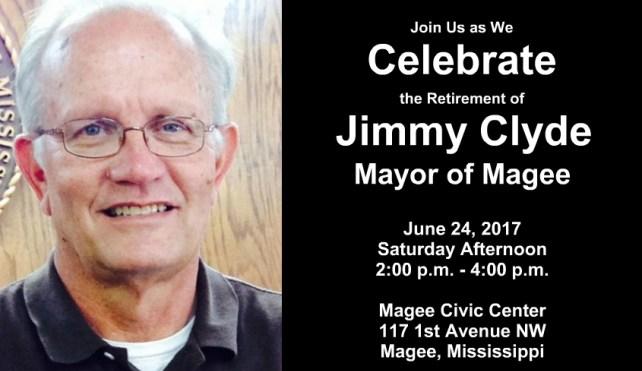Mayor Jimmy Clyde Retirement Reception