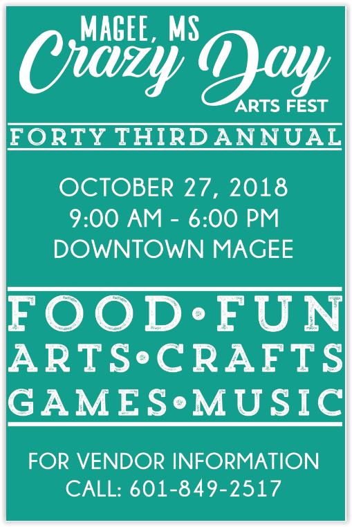 43rd Annual Crazy Day Arts Fest